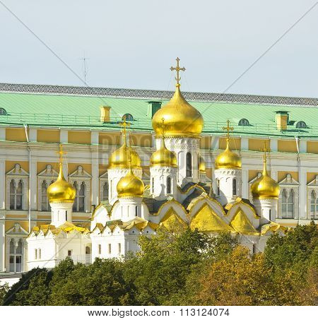 Moscow, Annunciation Cathedral Of Kremlin