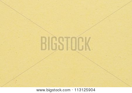 Paper Texture - Yellow Kraft Sheet Background.