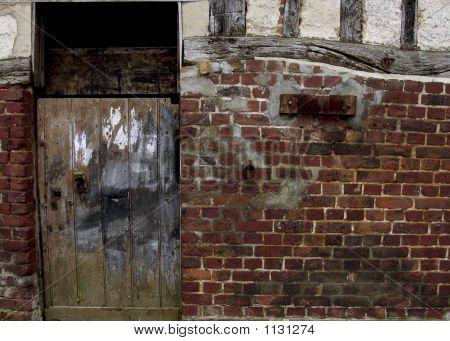Old Garage In Vittefleur Normandy