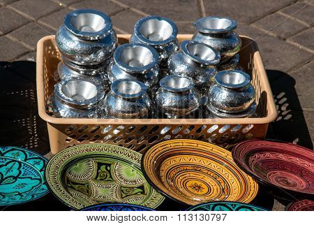 Offer Of Traditional Products, Morocco