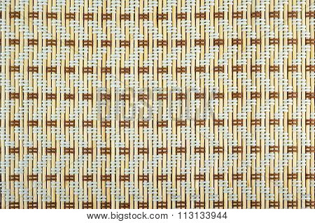 Weaved Bamboo Texture For Background