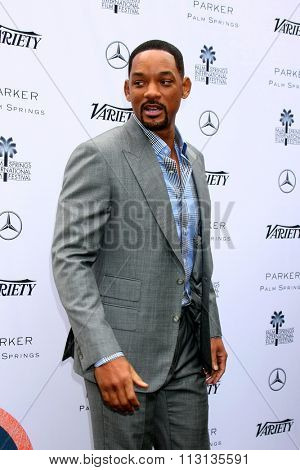 PALM SPRINGS - JAN 3:  Will Smith at the Variety Creative Impact Awards And 10 Directors To Watch Brunch at the The Parker Hotel on January 3, 2016 in Palm Springs, CA