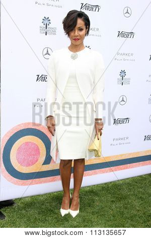 PALM SPRINGS - JAN 3:  Jada Pinkett Smith at the Variety Creative Impact Awards And 10 Directors To Watch Brunch at the The Parker Hotel on January 3, 2016 in Palm Springs, CA