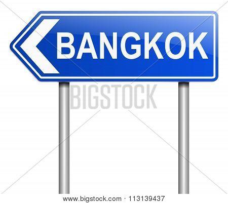 Bangkok Sign.