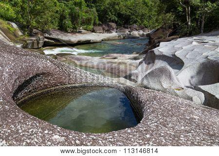 Babinda boulders in Queensland, Australia