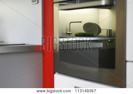 Kitchen Interior Close-Up