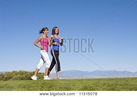 Women Walking, Jogging & Exercise