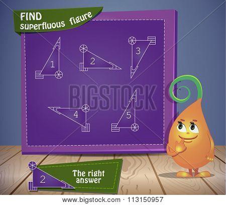 Find Superfluous Figure