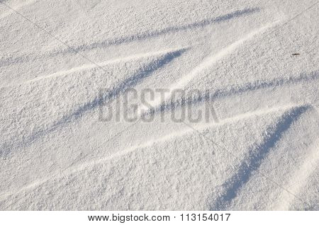 Snow Tire Tracks