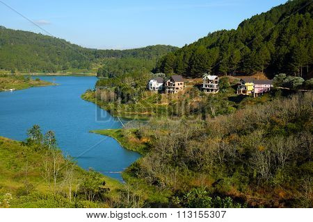 Tuyen Lam Lake, Dalat, Vietnam, Resort, Eco Villas