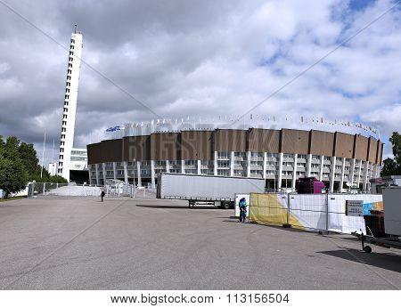 Olympic Stadium In Helsinki