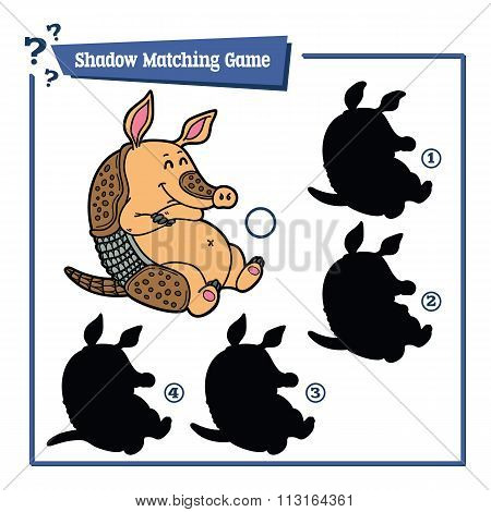 funny shadow armadillo game.