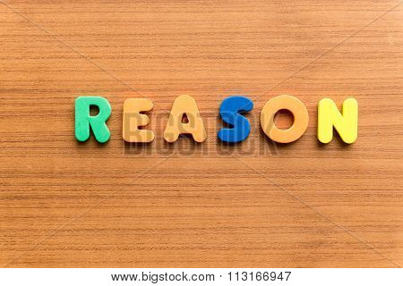 Reason Colorful Word