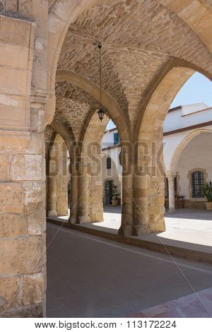Archway Of The Church Of Saint Lazarus, Larnaca, Cyprus.