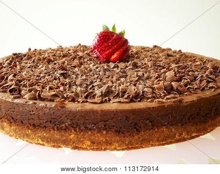 Fresh Chocolate  Cake  - Stock Image