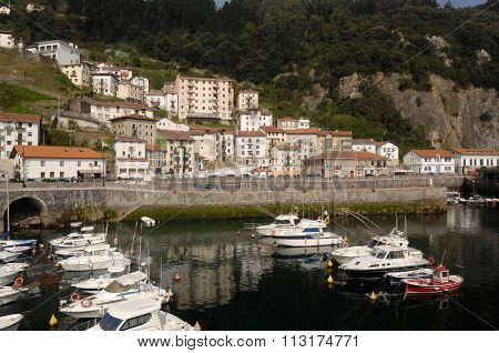 Harbor Of Elantxobe, Basque Country, Spain