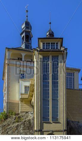 Castle Tower, Karlovy Vary, Czech Republic