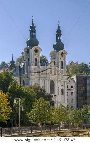 Church Of St. Mary Magdalene,karlovy Vary