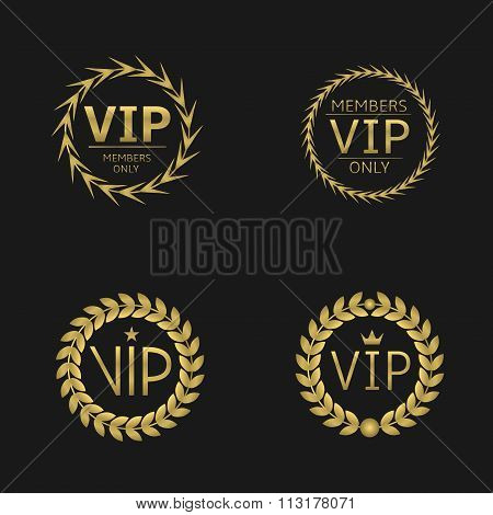 VIP Laurel wreaths