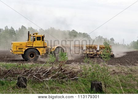 Soil Preparation For Sowing