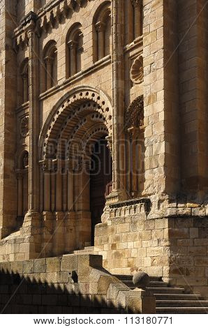 Puerta Del Obispo, Cathedral,zamora