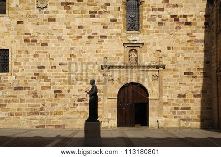 Statue Of St. Alphonsus, Seminary Square, Zamora,