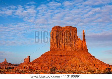 West Mitten Butte Monument Valley
