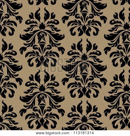 Classic style acanthus ornament pattern