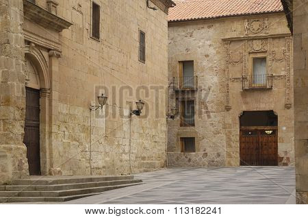 Home Of Don Diego Maldonado And Church Of San Benito, Salamanca, Spain