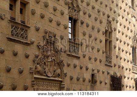 House Of Conchas, Salamanca, Castilla Y Leon, Spain