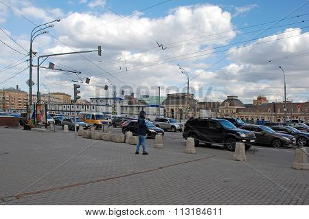The reconstruction of the square Paveletsky station