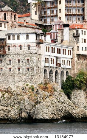 St. Gregoru Monastery On Mount Athos