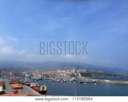 Harbor In Bermeo, Basque Country , Spain