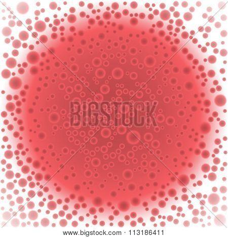 Blood cells background