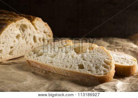 Sliced Fresh White Bread