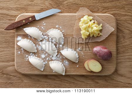 Traditional Ukrainian dumplings