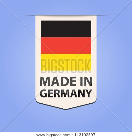 Made in Germany ribbon