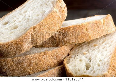 Ciabatta - Italian White Bread With Olive Oil