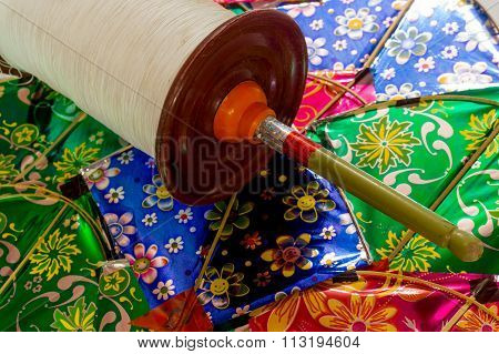 Indian kites and spool for kite fighting