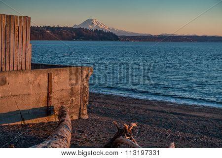 Wall And Rainier