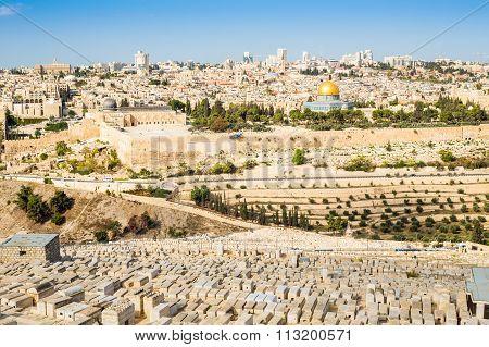 Cityscape Of Jerusalem, Israel