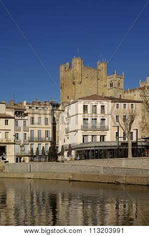 Canal of the Robine in Narbonne