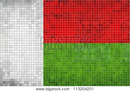 Flag Of Madagascar.eps