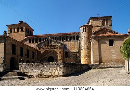 Collegiate church of Santa Juliana, Santillana Del Mar, Cantabria, Spain