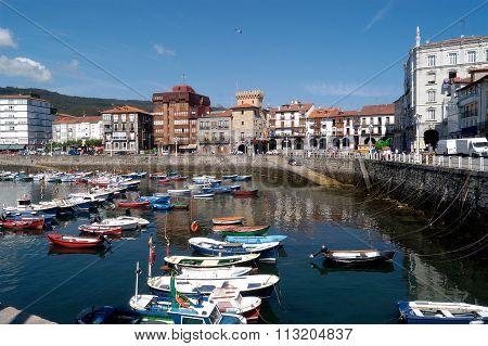 Harbor Castro Urdiales, Cantabria, Spain
