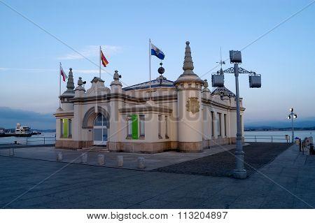 Palacete Del Embarcadero, Santander, Cantabria, Spain