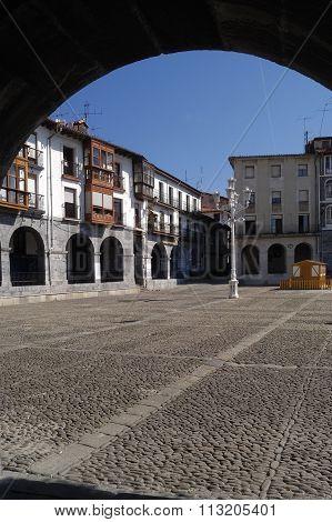 Square of Castro Urdiales