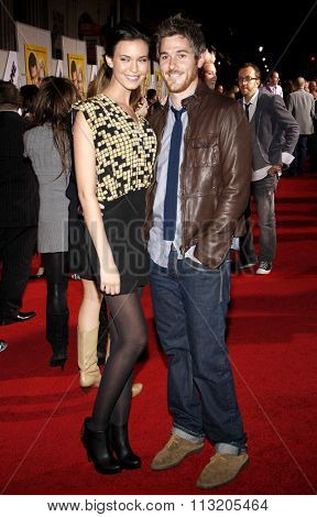 Odette Annable and Dave Annable at the World Premiere of