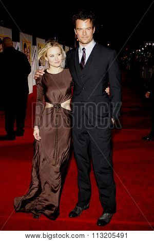 Kristen Bell and Josh Duhamel at the World Premiere of