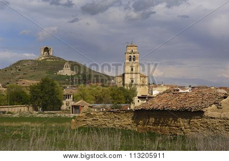 View Of Mota Del Marques, Valladolid Province